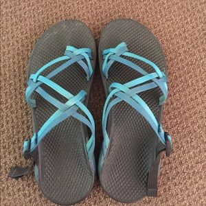 Chaco Shoes - Turquoise Chacos