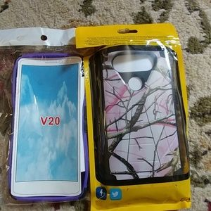 Other - LG V20 phone case bundle. NWT Sale!
