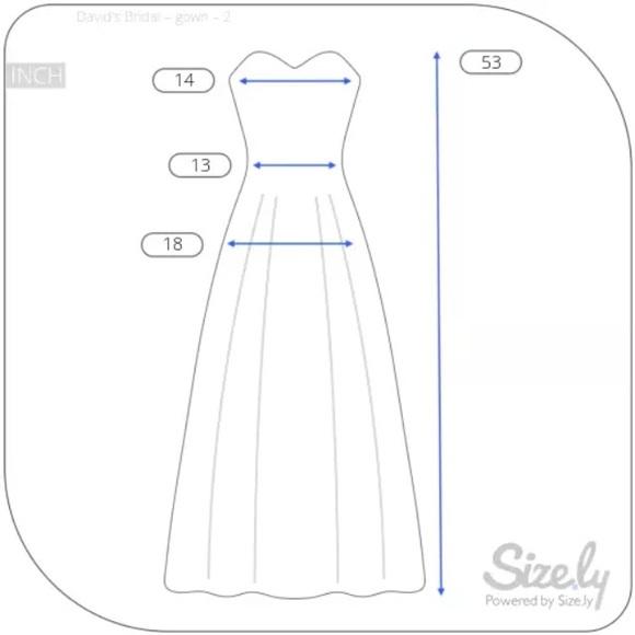 60 Off David S Bridal Dresses Amp Skirts David S Bridal