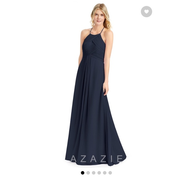 b9ecfa30 Dresses | Azazie Ginger Navy Dress | Poshmark