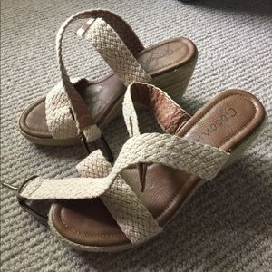Coconuts Shoes - Coconuts summer wedges