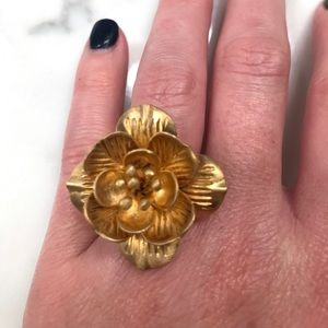 Satya Jewelry Jewelry - Satya Lotus Ring - gold