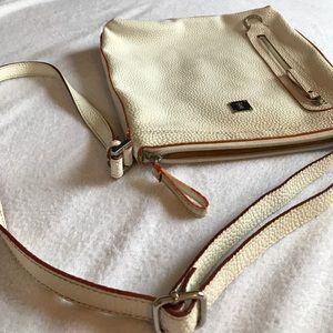KEM Bags - KEM white/cream crossbody handbag.