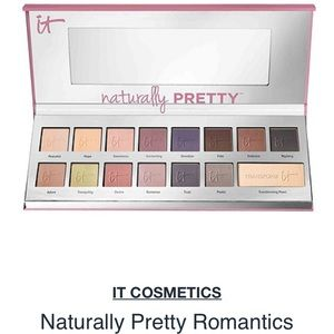 "it cosmetics Other - It cosmetics ""Naturally Pretty Romantics"" palette"
