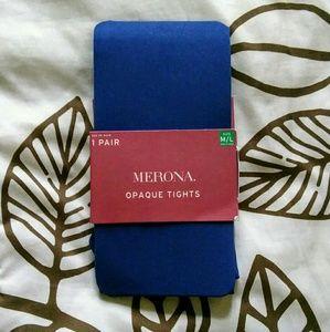 Merona Accessories - Navy blue Merona tights