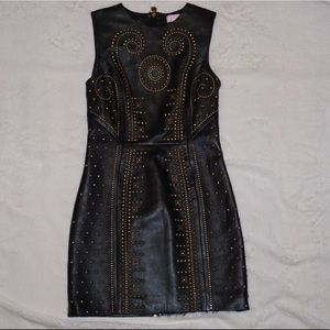 Versace for HM gold stud dress