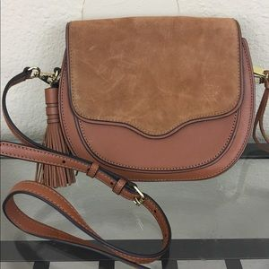 Rebecca Minkoff Handbags - Rebecca Minkoff large suki brown suede crossbody