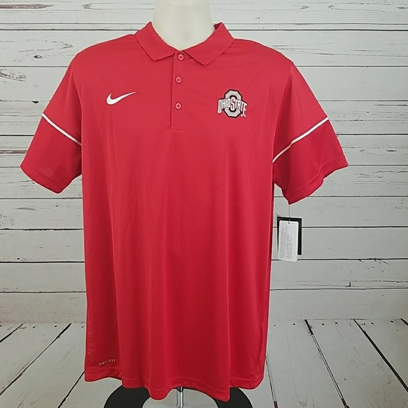 7316d1ca Nike Shirts | Dri Fit 2017 Ohio State Buckeyes Polo Large | Poshmark