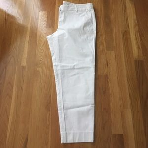 J. Crew Factory Pants - J.Crew Factory Stretch Cotton Cropped Pants
