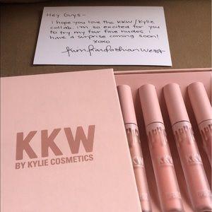 Kylie Cosmetics Other - KKW by Kylie lipsticks.
