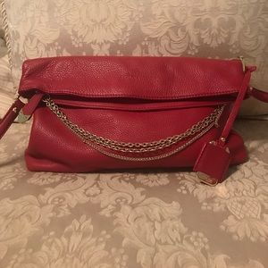Perlina Handbags - Perlina Red Leather Handbag!