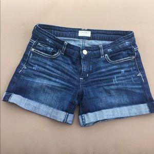 Aeropostale size 3/4 denim shorts