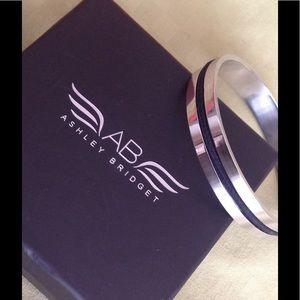 Ashley Bridget Jewelry - NIB Ashley Bridget Elastic Hair Tie Holder Bangle