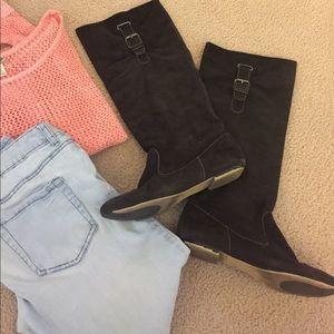 Zigi Soho Shoes - Knee-High Brown Boots