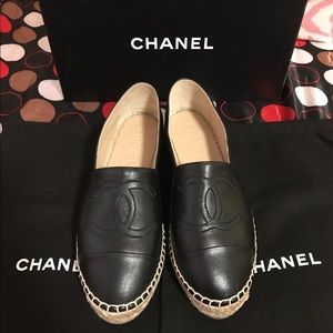 CHANEL Shoes - Brand New AUthentic CHANEL Espadrille Size 6
