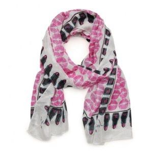 Betsey Johnson Accessories - Betsey Johnson Pretty Lips Scarf