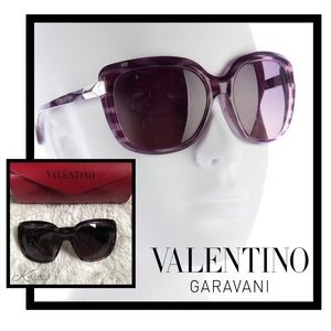 Valentino Garavani Accessories - 💯 Auth Valentino Oversized Rockstud Sunglasses