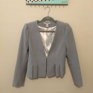 H&M Structured and Pleated Blazer