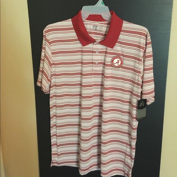 44 off russell other final mark down alabama crimson for Alabama crimson tide polo shirts