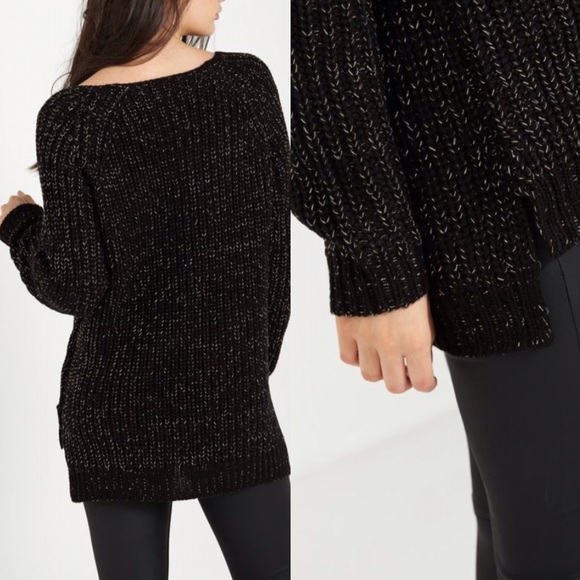 38% off Cotton On Sweaters - NWT: COTTON ON Black x Gold ...