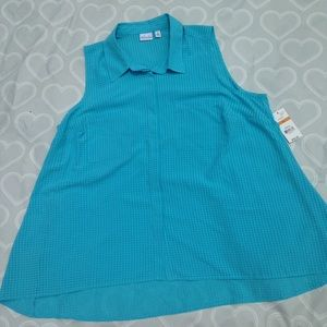 Kim Rogers Tops - Women's Top size 3X NEW WITH TAGS