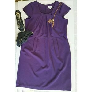 Dresses & Skirts - Olivia Matthews purple dress with pockets ?