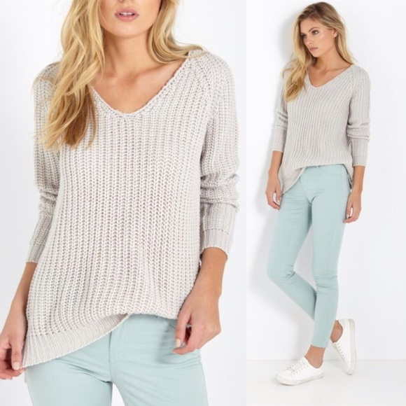 38% off Cotton On Sweaters - NWT: COTTON ON Gray x Silver ...