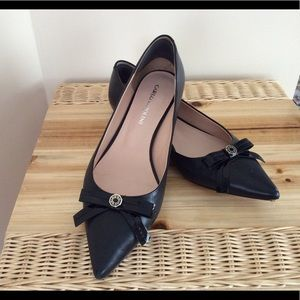 carlo pazolini Shoes - Black leather flat