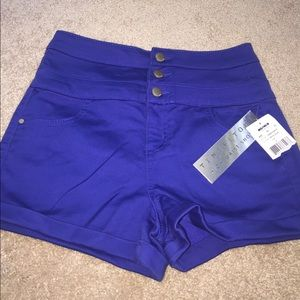 Tinseltown Pants - NWT High Waist Shortie Shorts