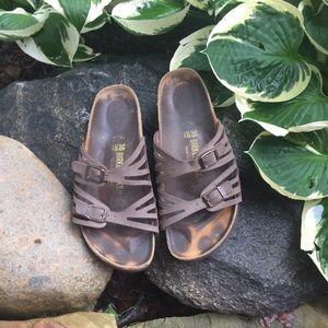 Birkenstock Shoes - Brown Birkenstock Granada sandals