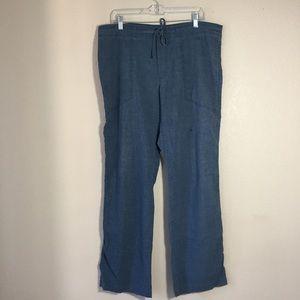 Prana Pants - {Prana} Hemp Blend Relaxed Drawstring Pants