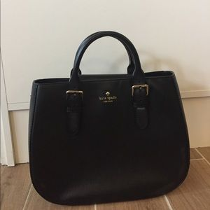 kate spade Handbags - Kate Spade Black Leather Shoulder Purse