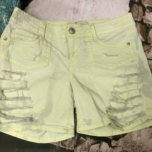 Pants - ‼️CLEARANCE‼️Custom Destroyed Ripped Dye Shorts 9