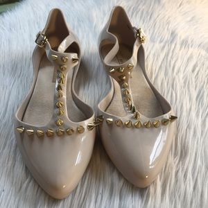 Melissa Shoes - ✨Melissa flats with gold spikes