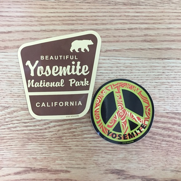 Yosemite Stickers! $4 or FREE w/ another purchase!