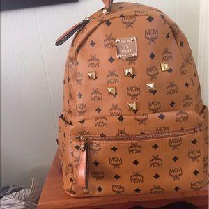 MCM Other - MCM Backpack Large light brown