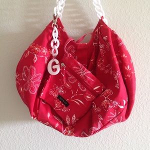 G by Guess Hobo Bag & Coin Purse Set