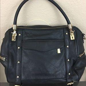 Rebecca Minkoff Handbags - Rebecca Minkoff Cupid pebble leather stud satchel