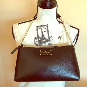 Kate Spade Byrd. Wellesley small shoulder bag.