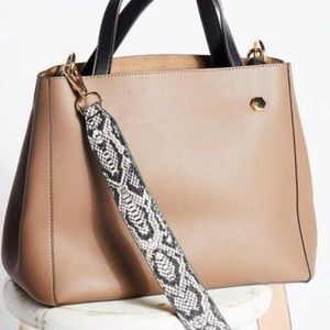 Free People Handbags - FREE PEOPLE Taupe TOTE BAG Handbag PURSE Crossbody