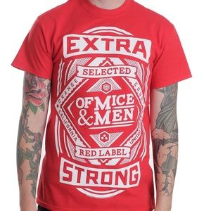 Hot Topic Tops - Of Mice and Men Band Tee