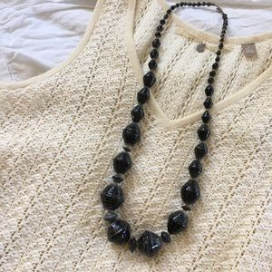 31 Bits Jewelry - NWOT 31 Bits black necklace