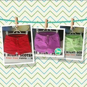 Justice Other - Girls Shorts Bundle