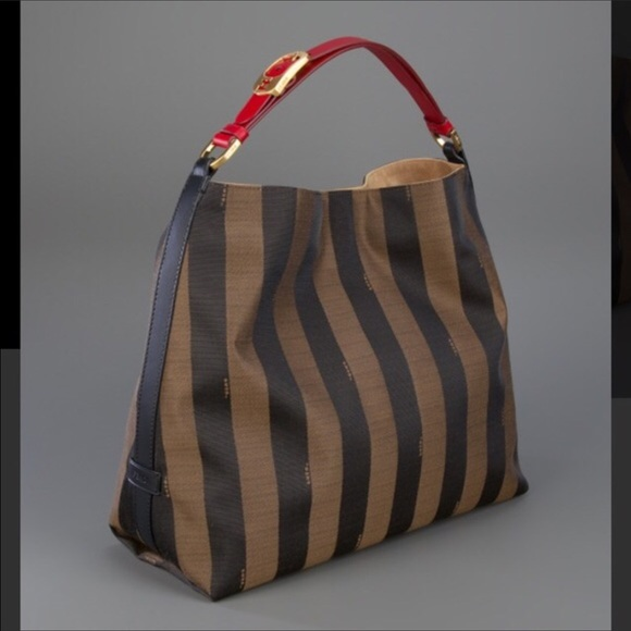 d95f72ef472 Fendi Handbags - Fendi Penguin Jacquard hobo (authentic)