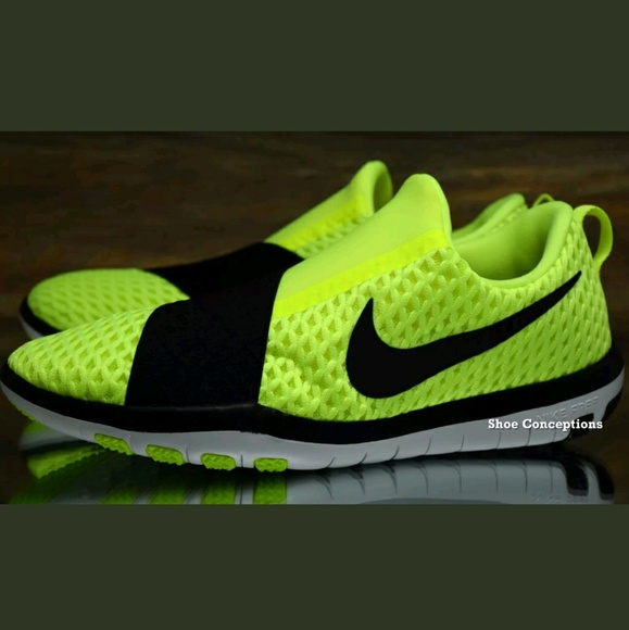 Nike Chaussures Free Connect Volt Noir Neon 843966700 Poshmark