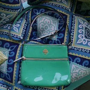 kate spade Handbags - Kate Spade Teal Crossbody