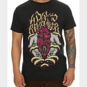 Hot Topic Tops - A Day To Remember Band Tee