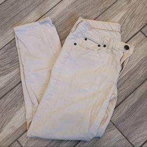 J. Crew Stretch Cream Pants