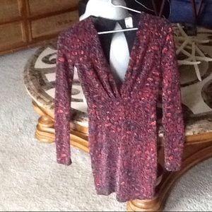 Dresses & Skirts - FINAL SALE Red leopard glitter print mini dress