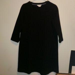 Boden Dresses & Skirts - Boden Black 3/5 Sleeve Shift Dress